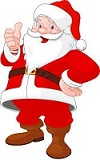 Santa visits -check their website for dates and hours